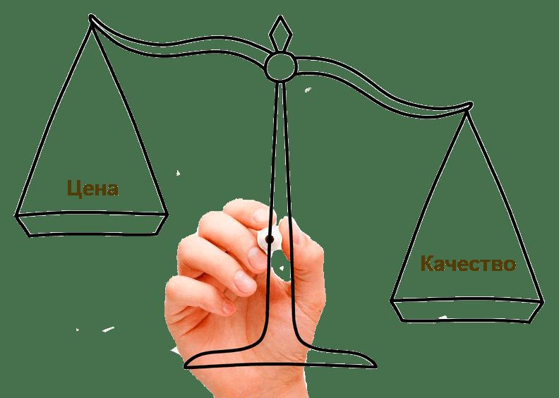цена и качества услуг риэлтора